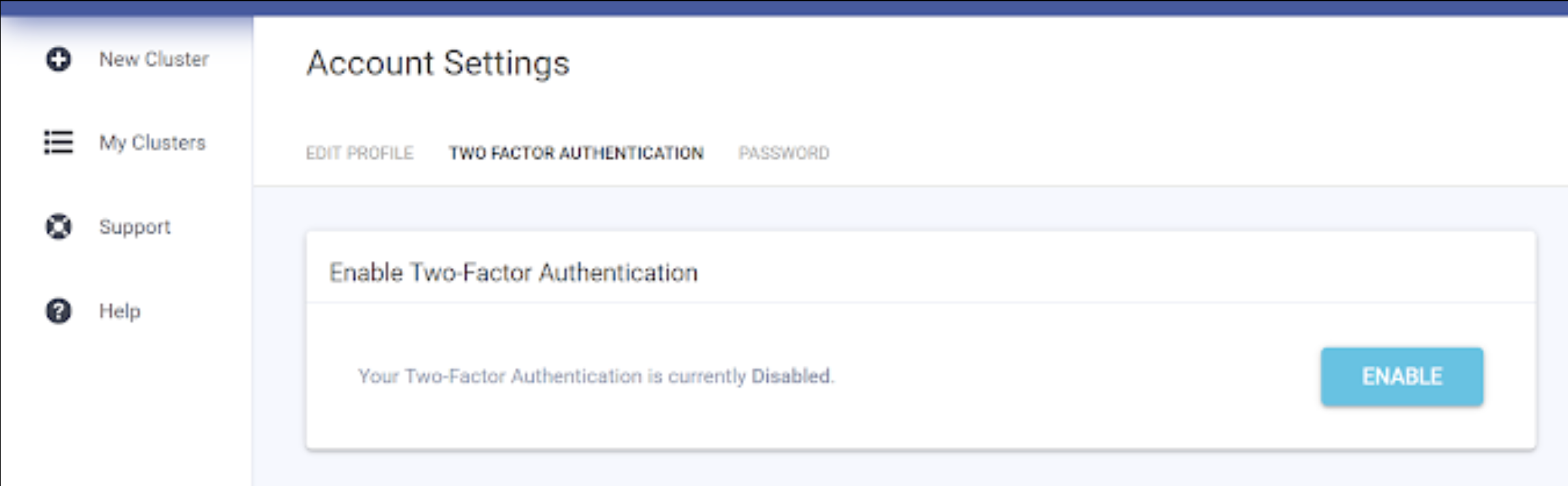 Enabling Two-Factor Authentication (2FA) in Scylla Cloud
